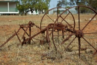 farm machinery at Begonia