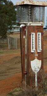 petrol pump no more at Begonia