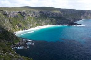 Cape de Couedic coastline