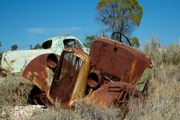 Abandoned workers Lightning Ridge 1