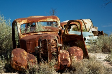 Abandoned workers Lightning Ridge 2