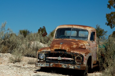 Abandoned workers Lightning Ridge 5