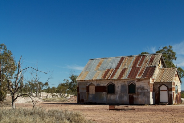 Church in the Lightning Ridge Opal Fields 1