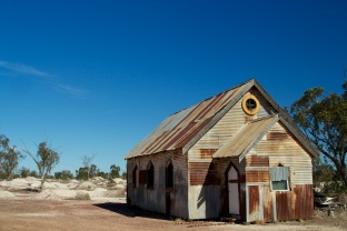 Church in the Lightning Ridge Opal Fields 2