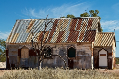 Church in the Lightning Ridge Opal Fields 3