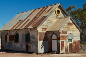 Church in the Lightning Ridge Opal Fields 4