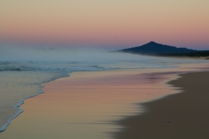 Mylestom Beach 6.54am