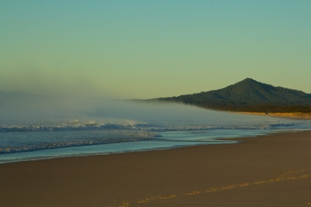 Mylestom Beach 7.19am