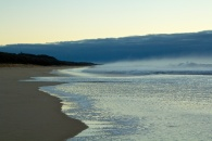 Mylestom Beach to the North 6.53am