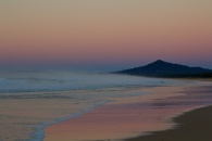 Mylestom Beach to the South 6.52am