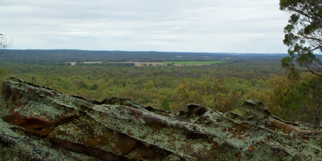 View from the Sandstone Caves