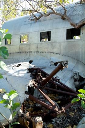 C-53 landing gear Anjo Peninsula