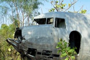 C-53 wreck Anjo Peninsula