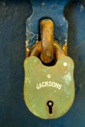 Fannie Bay Gaol Cell Block Lock