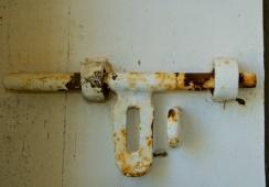 Fannie Bay Gaol Original Lock
