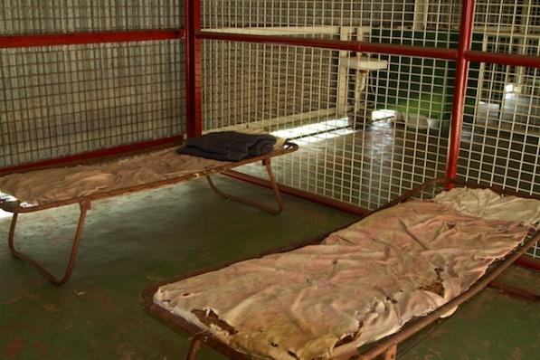 Fannie Bay Gaol Wire Cells