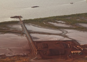 Wyndham Iron Ore Loading