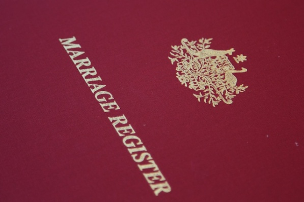 marriage register