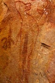 Wandjina art bird