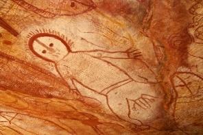 Wandjina art man