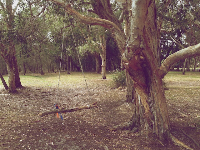 building your own swing