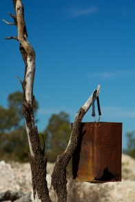 miner's bucket Lightning Ridge