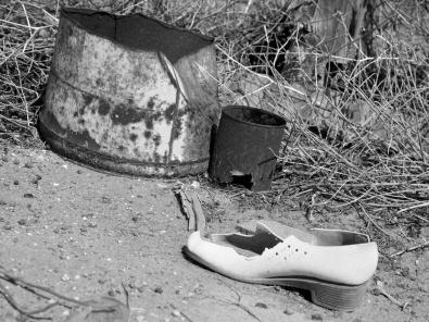 left behind - Zanci ruins Mungo NP