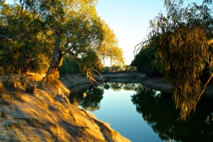 The Darling at Wilcannia