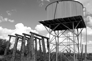 water tanks - Zanci ruins Mungo NP