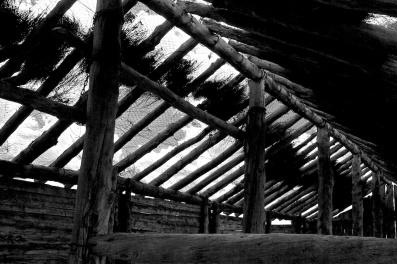 Zanci ruins woolshed - Mungo NP