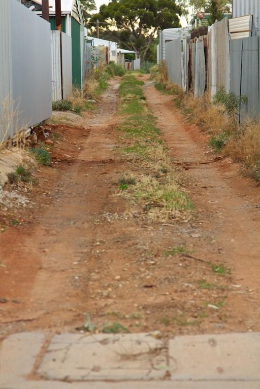 Broken Hill laneways