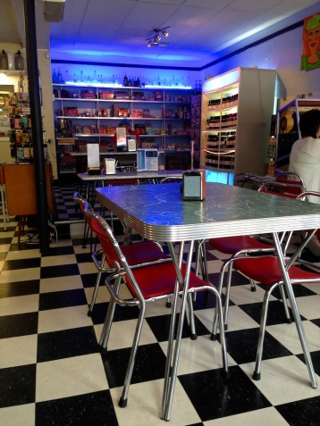retro cafe Broken Hill