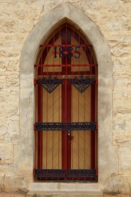 Silverton church doors