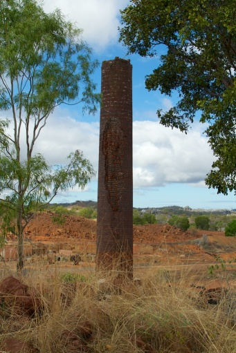 chimney at the Chillagoe smelter