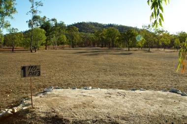 hole 1 Chillagoe golf course