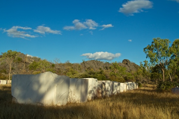 marble in the field at Chillagoe
