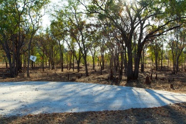 the first 'green' Chillagoe golf course