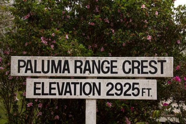 Paluma Range sign
