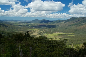 view to Mackay from Eungella NP