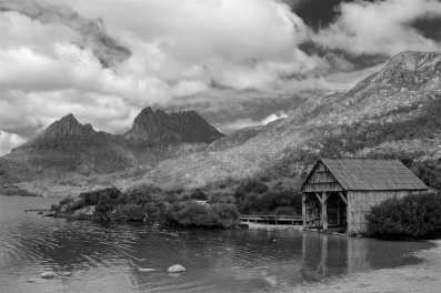 the hut Cradle Mountain